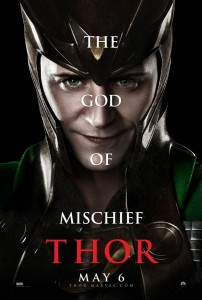 Thor-Character-Movie-Poster-Set-1-Tom-Hiddleston-as-Loki-The-God-of-Mischief