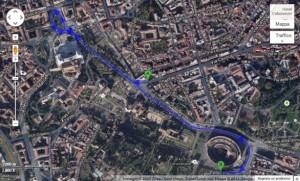 via-dei-fori-imperiali-chiusa-su-google-maps